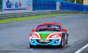 Mazda MX5 Aori, the official car of the finals